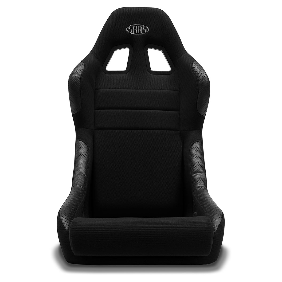 Seat Fixed Back Mach II Black ADR Compliant