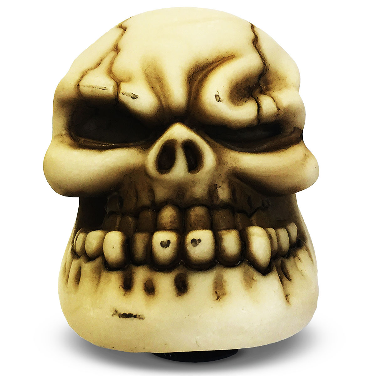 Skull Gear Knob Cream Large
