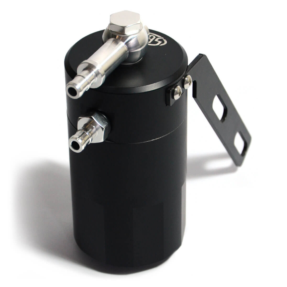 Oil Catch Tank LS1 Baffled Black Billet 500ml