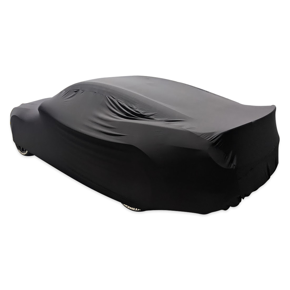 Car Cover Indoor Classic Ultra 4 Way 4.90m-5.30m Black