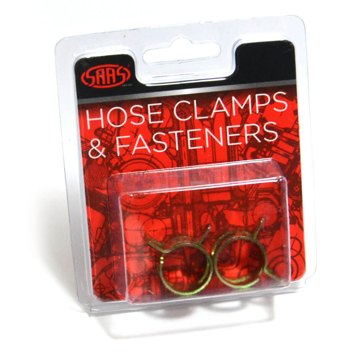 Hose Clamps Spring 14mm 9/16 ID Hose Pk2