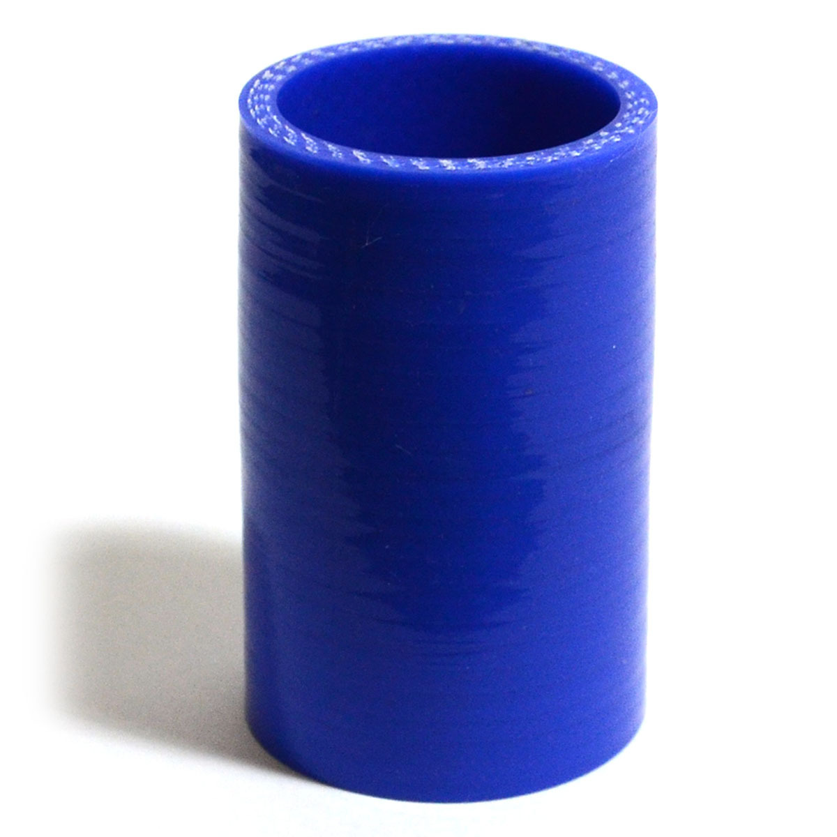 Straight 4 Ply Silicone Hose 32mm x 32mm x 76mm Blue