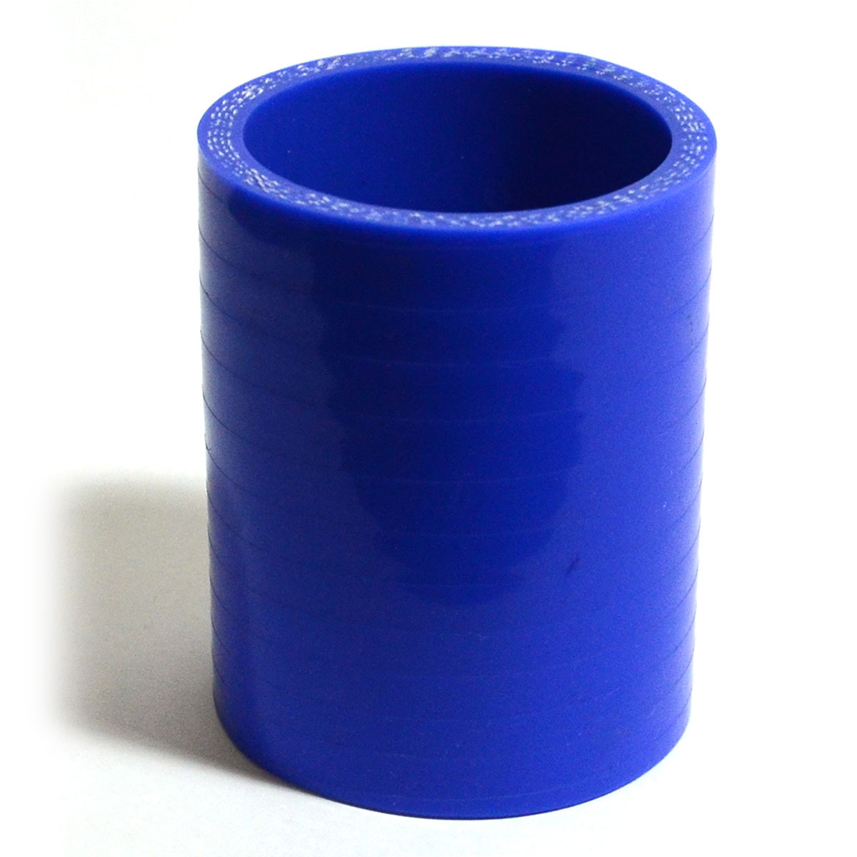 Straight Silicone Hose 57 x 57 x 76mm Blue