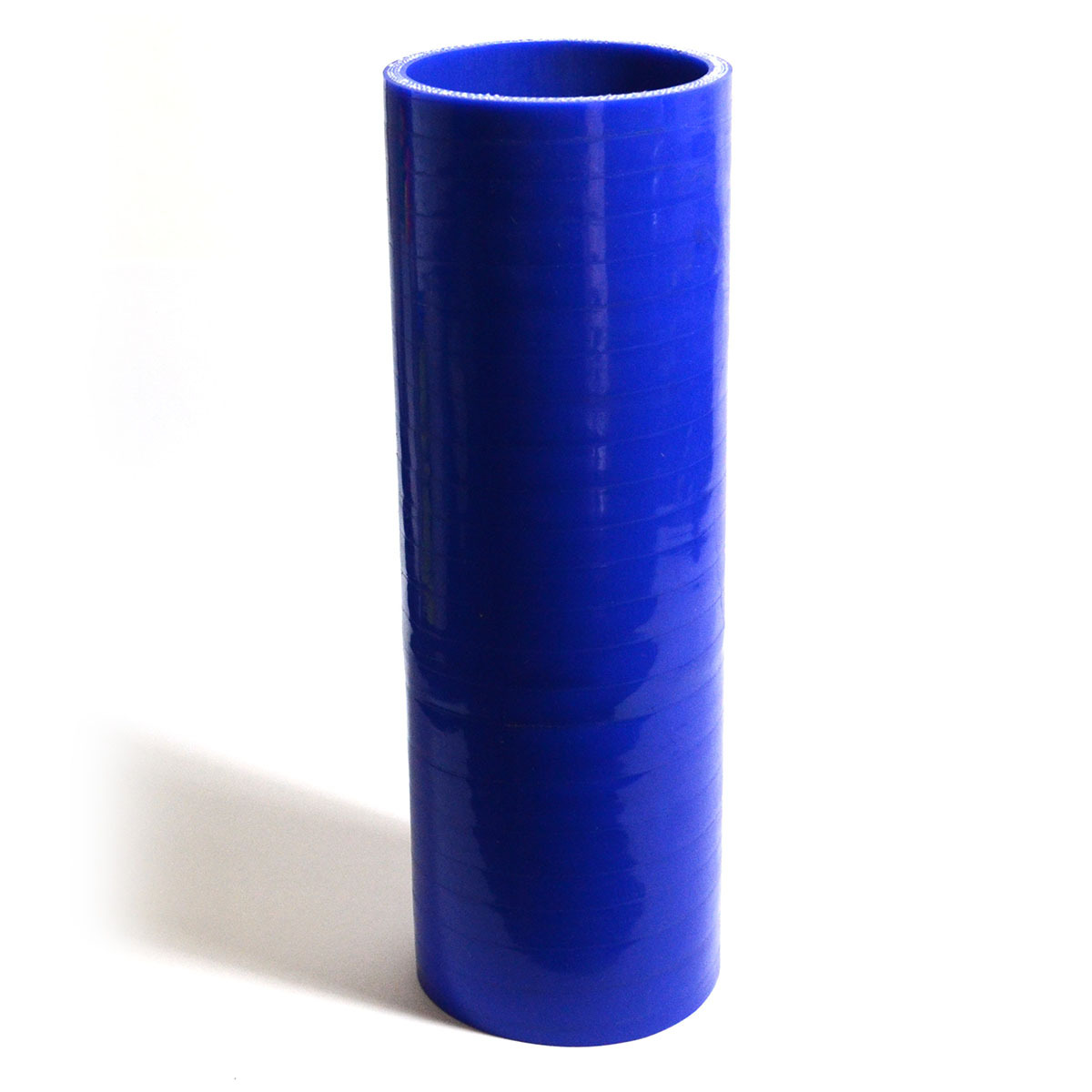 Straight 4 Ply Silicone Hose 76mm x 76mm x 254mm Blue