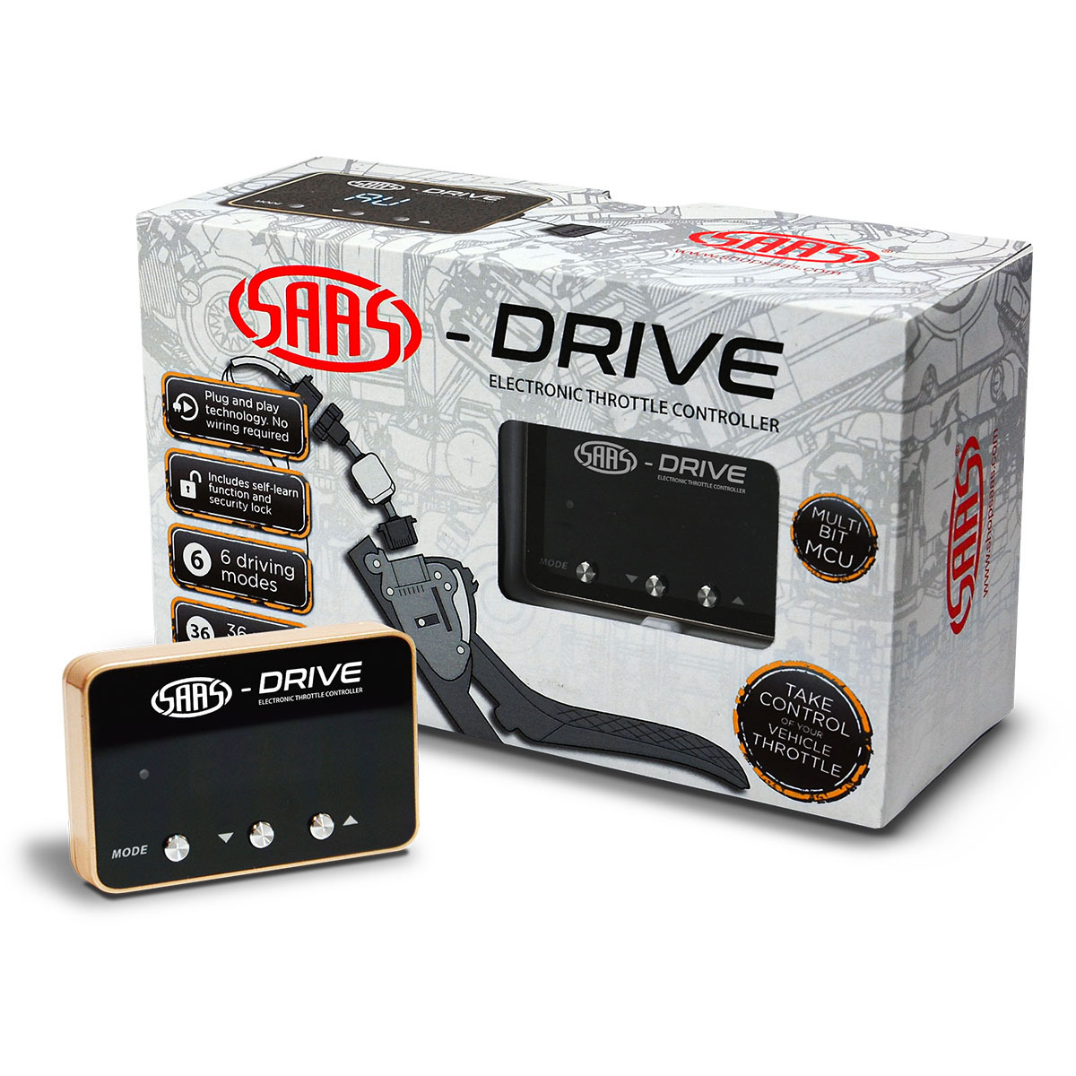 S-Drive Opel Vauxhall Zafira C 2011 > Throttle Controller