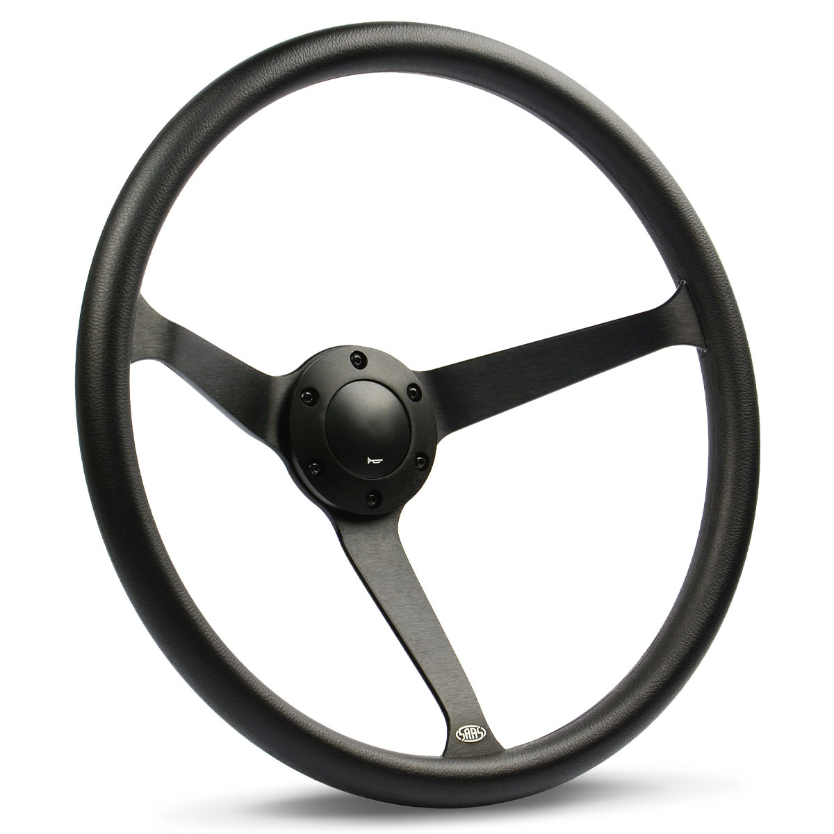 "Steering Wheel Poly 15"" Classic DD Black Alloy Solid"