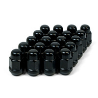 Wheel Nut Acorn Bulge 14 x 1.50 Black 35mm