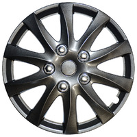 "Sprint 15"" Gun Mtl Wheel Cover Set"