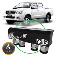 Diff Breather Kit 4 Port suit TOYOTA HILUX 1997-2015 All Models