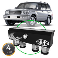 Diff Breather Kit 4 Port suit TOYOTA LANDCRUISER 100 Series 1998-2007