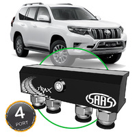 Diff Breather Kit 4 Port suit TOYOTA PRADO 150 Series 2009-Current