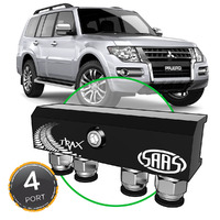 Diff Breather Kit 4 Port suit MITSUBISHI PAJERO NS-NX 2006-Current