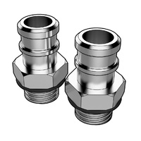 Catch Tank Hose Fitting 16mm 5/8 (Pair)