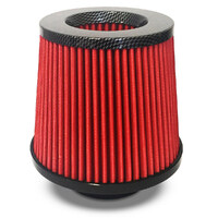 Pod Filter Red Urethane Carbon Top 76mm
