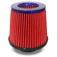 Pod Filter Red Urethane Blue Top 76mm
