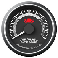 Air Fuel Ratio Gauge Narrow Band 52mm Muscle Black