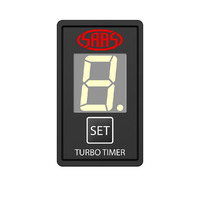 Turbo Timer Digital Switch Gauge Auto Toyota 40 x 20