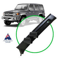 Gauge Pillar Pod Landcruiser 2016 Current 70 Series With Curtain AirBags