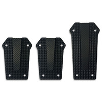 Pedal Pad Kit - Aluminium Solid Black Manual