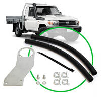 Oil Catch Tank Install Kit Landcruiser 79 Series 4.5L 2007 -