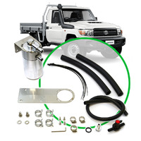 Oil Catch Tank Full Kit suit Landcruiser 79 Series 4.5L 2009