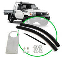 Oil Catch Tank Install Kit Landcruiser 79 Series 4.5L 2009 -