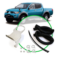 Oil CatchTank Install Kit Mitsubishi Triton ML MN 2.5L 2006 - 2015