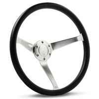 "Steering Wheel Poly 15"" Classic DD Satin Alloy Solid"