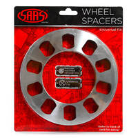 Wheel Spacer x 2 Universal 5 Stud 8mm