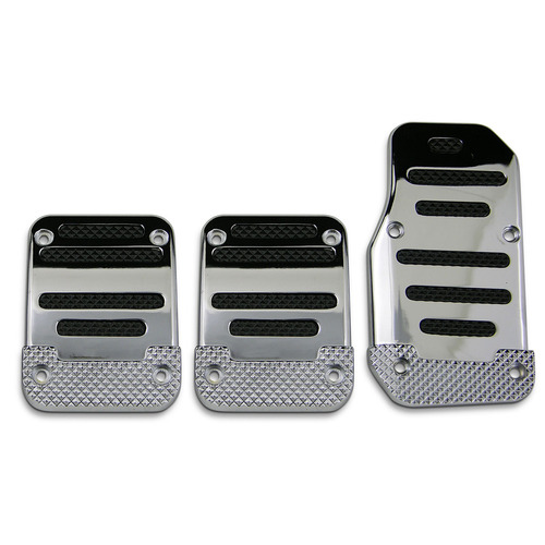 NLA Pedal Pad Kit - Chrome-Black Inserts Manual