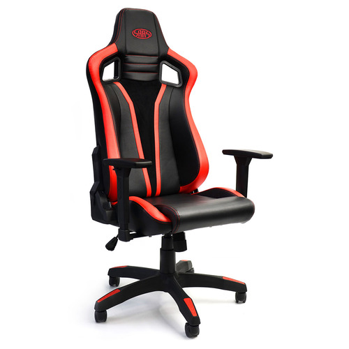 Executive Office Chair Black with Red Accents Gaming